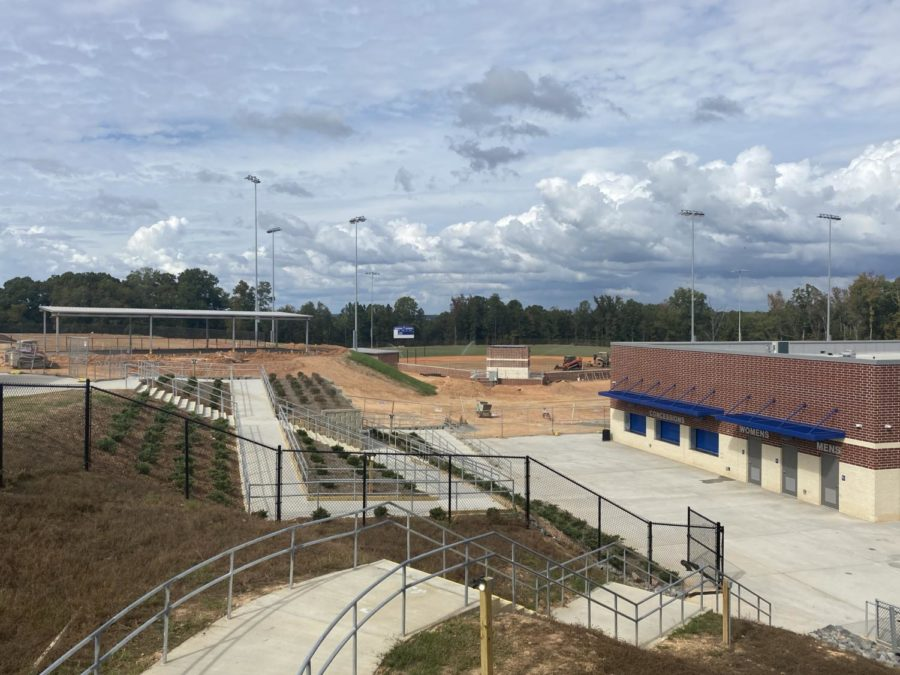 Athletics Fields Nearing Completion